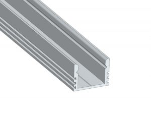 Alumiinium profiil, sügav, 2m